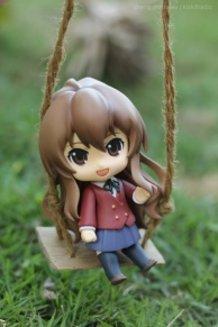 Nendoroid Aisaka Taiga (Dengeki Vers) in the Garden