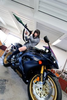 moto girl