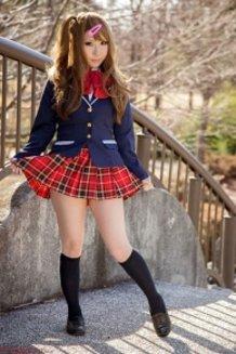 Shinka Nibutani (Mori Summer Uniform)