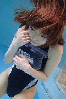 Ziploc-Girl UNDER WATER *ORIGINAL*