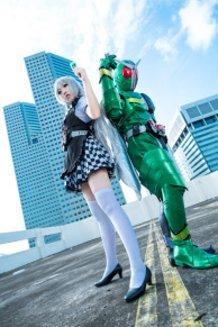 Nyaruko X Kamen Rider W