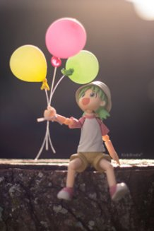 Yotsuba and Balloons