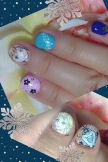 Frozen Nails!!