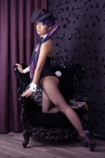 Stocking Anarchy . The Pin-Up Bunny