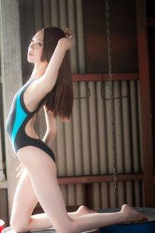 Swimming race bathing suit