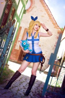 Lucy Heartfilia (Fairy Tail) Cosplay By Calssara
