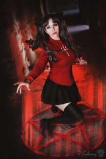 Rin Tohsaka (Fate/Stay Night) Cosplay by Calssara