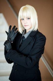 Fate/Zero Saber Cosplay