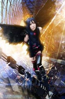 Kuroyuki Hime/Accel world  assult ver. cosplay
