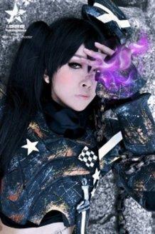 Insane Black Rock Shooter cosplay