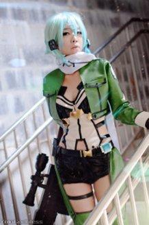 Sinon  /Sword art online II cosplay