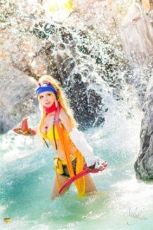 Rikku Thief (Final Fantasy X-2) Cosplay by Calssara