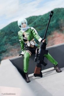 Sinon Sword art online 2 cosplay