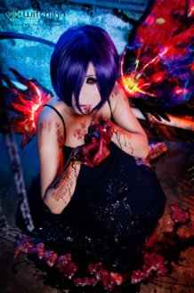 Touka from Tokyo Ghoul