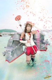 Kantai Collection-Kancolle- cosplay YAMATO