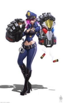 Officer Vi Concept Art