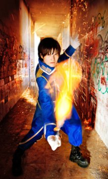 Roy Mustang - Real Fire