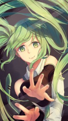 Miku Trapped in Your Phone