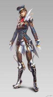 Avatar design (army) female suit