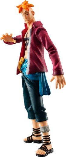 "The One Piece ""Hybrid Grade Whitebeard Pirate Crew"" Figure Set."