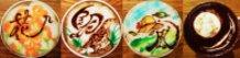 Kachoufuugetsu ~The art of Latte calligraphypenmanship~