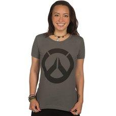 Overwatch Icon Women's Dark Gray T-Shirt