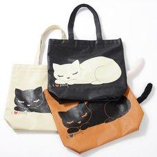 Osumashi Pooh-chan Sleeping Pooh-chan Tote Bags