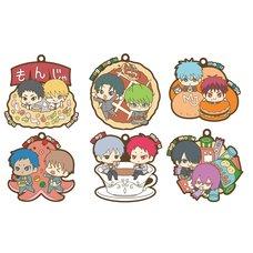 Kuroko's Basketball Mogumogu Rubber Mascot Box Set