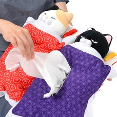 Hige Manjyu Ofuton Cat Tissue Cover Collection