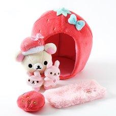 Minna Ichigo ni Naare Korilakkuma Strawberry Lifestyle Set