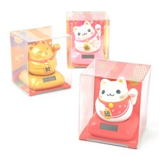 Light-Activated Happy Maneki-Neko