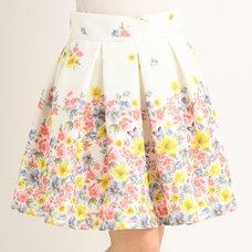 LIZ LISA Flower Hem Skirt