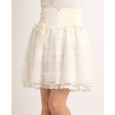 LIZ LISA Laced Up Skirt