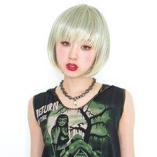 Lunatic Lemony Lollipop Emotional Green Wig