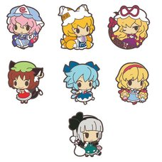 Touhou Poppuchi Rubber Strap Collection Part 2