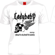 LADYBABY Angel Wings White T-Shirt