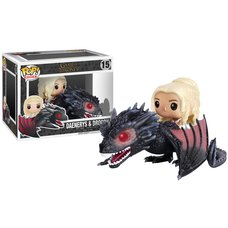Pop! Rides: Game of Thrones - Daenerys & Drogon