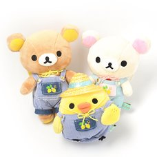 A Basketful of Lemons Rilakkuma Atsumete Plush Collection