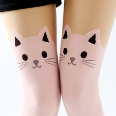 Takeuchi Color Animal Fake Thigh-High Tights