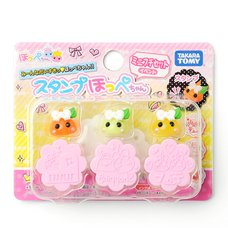 Hoppe-chan Mini Stamp 3-Piece Sets