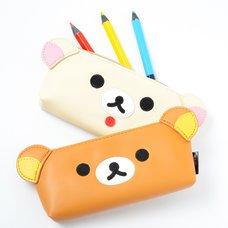 Rilakkuma Face Pencil Cases