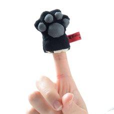 Kutusita Nyanko Cat's Paw Finger Puppet Cleaner
