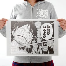 Shonen Jump Reproduction Panel Print: One Piece - A