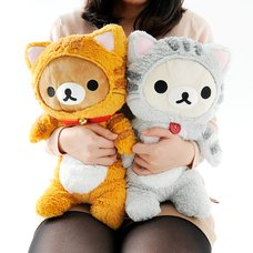 Nonbiri Neko Rilakkuma Huggable Plush Collection
