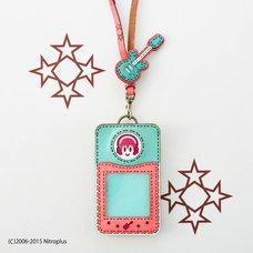 OJAGADESIGN Super Sonico Pink x Blue Pass Case