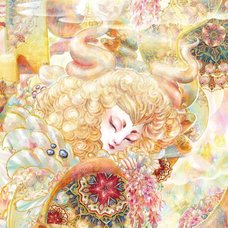 "Sakura Exhibition: Jie Van ""Sleeping in Springtime"" Poster"
