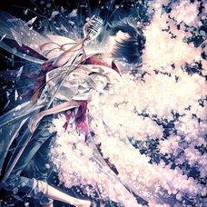 "Sakura Exhibition: kawakami ""Cry"" Poster"