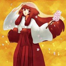 "Sakura Exhibition: Sako Taichi ""Cherry Blossoms Dance"" Poster"