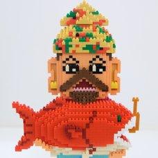 Nanoblock Shibuya Pixel Art Artist Works: Yukinori Dehara Figure