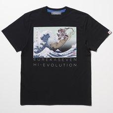 Eureka Seven x Ungreeper Nirvash Black T-Shirt